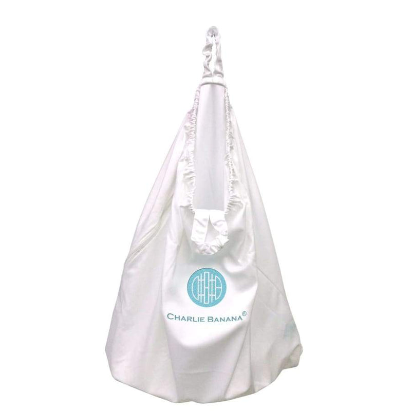 Charlie Banana Hanging Diaper Pail White | Charlie Banana | Cloth Diaper Accessory