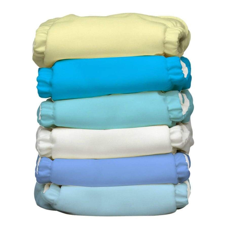 Charlie Banana One Size 6-Pack Unisex Pastel | Charlie Banana | Cloth Diaper Kit
