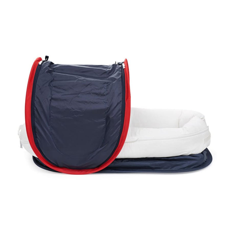 DockATot Deluxe+ Dock Cabana Kit - Endless Blue | DockATot | Baby Sleep