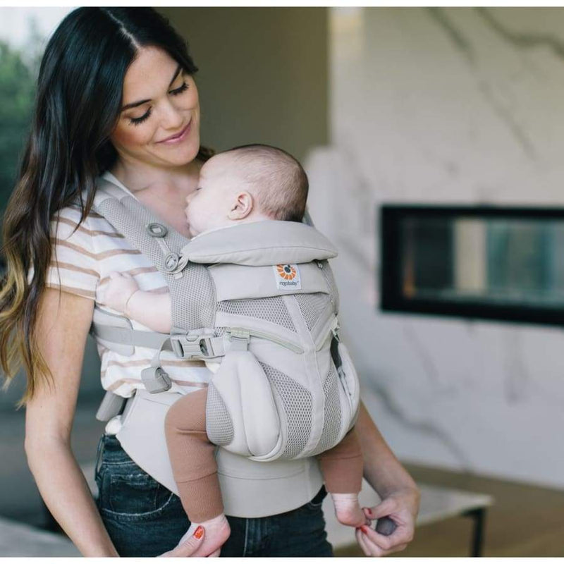 Ergobaby Carrier Omni 360 Cool Air Mesh Pearl Grey | Ergobaby | Baby Carrier