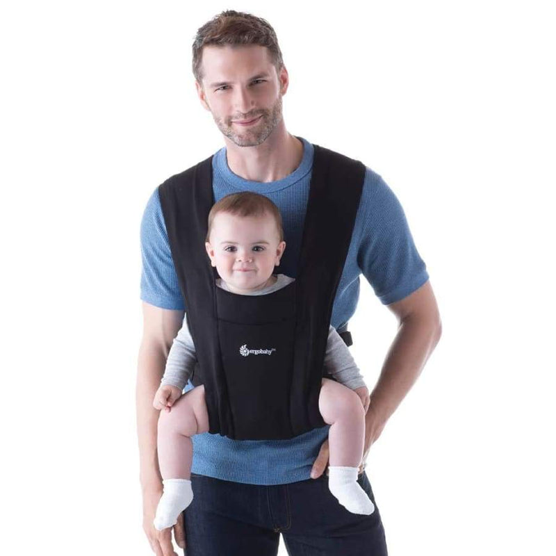 Ergobaby Embrace Carrier Pure Black - NEW! | Ergobaby | Baby Carrier