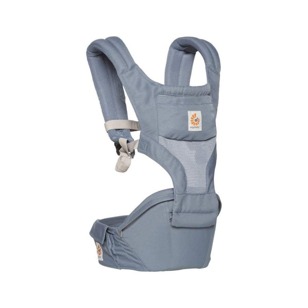 Ergobaby Hipseat 6 Position Carrier Cool Mesh Oxford Blue | Ergobaby | Baby Carrier
