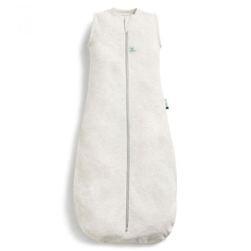ergoPouch Organic Cotton Jersey Sleep Bag (0.2 Tog) - Grey Marle | ErgoPouch | Sleeping Bags