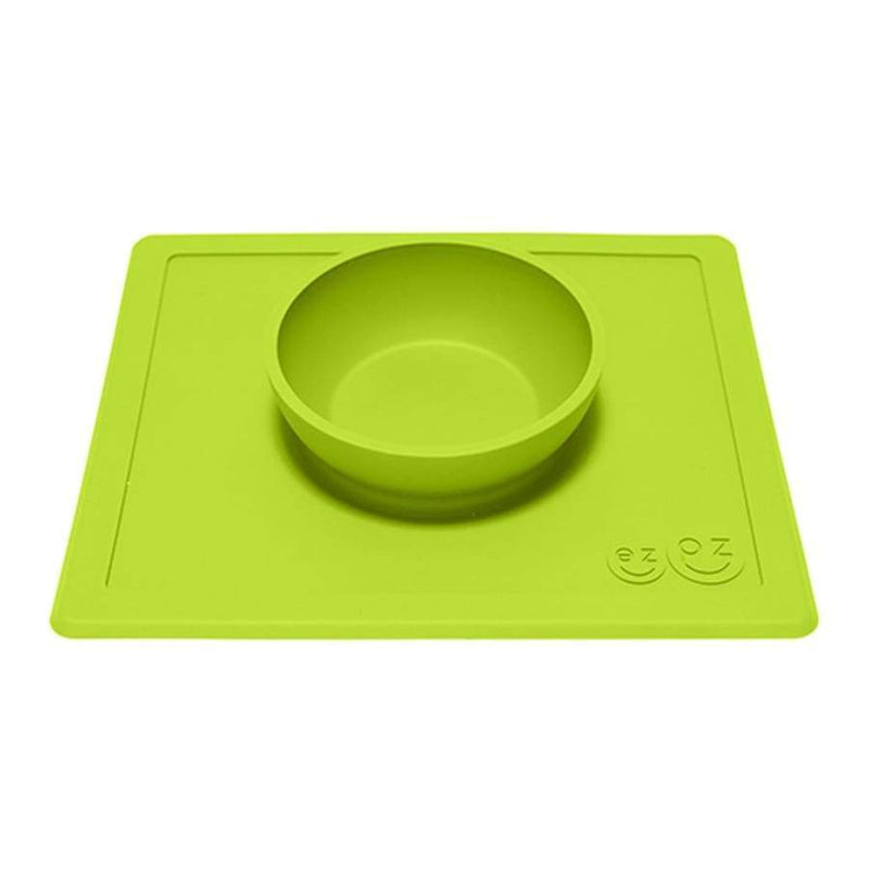 EZPZ Happy Bowl Lime Green | EZPZ Fun | Baby Feeding