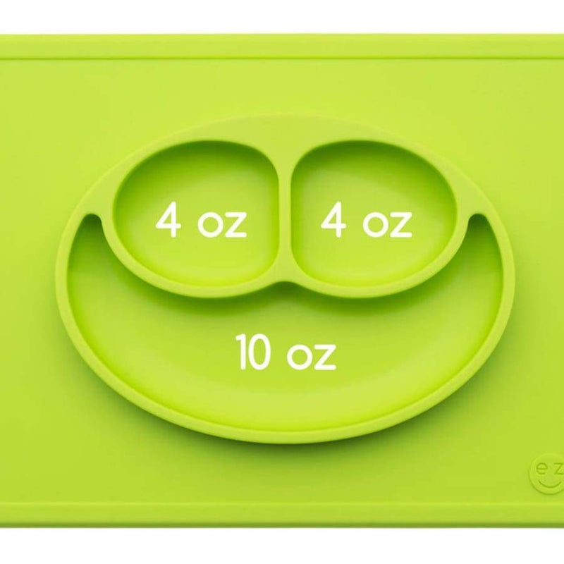 EZPZ Happy Mat Lime Green | EZPZ Fun | Baby Feeding