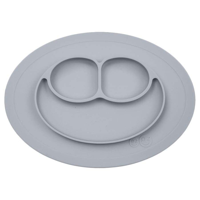 EZPZ Mini Mat Pewter | EZPZ Fun | Baby Feeding