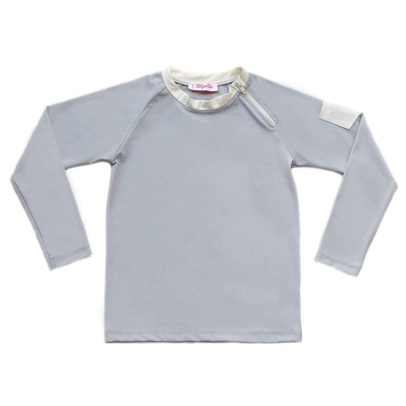 Folpetto Spencer Rashguard Cloud Grey | Folpetto | Swim