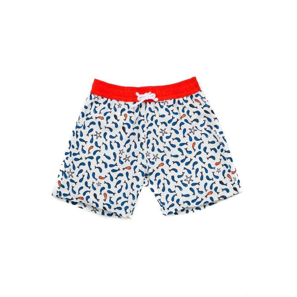 Folpetto Tommaso Swim Short Ivory Fish | Folpetto | Swim