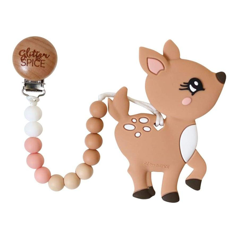 Glitter & Spice Deer Teether | Glitter & Spice | Baby Essentials