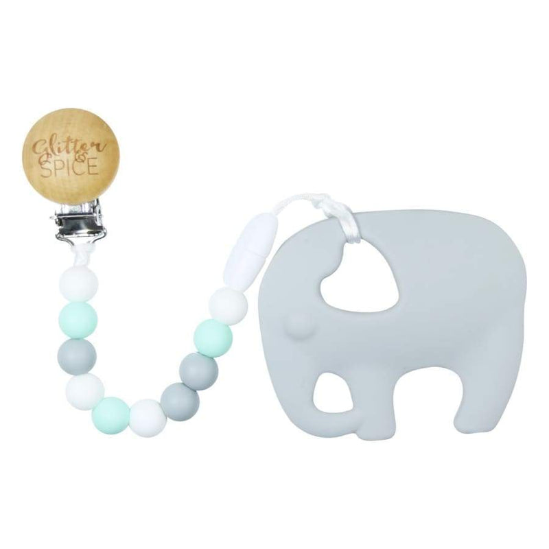 Glitter & Spice Elephant Teether - Seraphina | Glitter & Spice | Baby Essentials