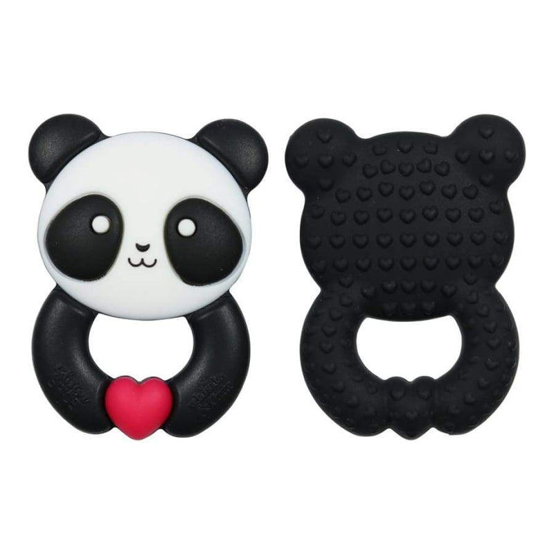 Glitter & Spice Whistle & Flute Kawaii Panda Teether | Glitter & Spice | Baby Essentials