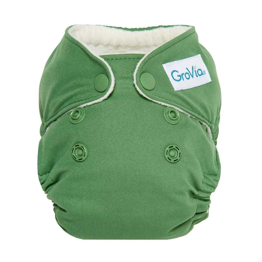 GroVia AIO Newborn Basil | Grovia | Cloth Diaper