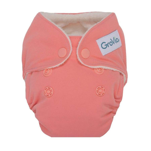 GroVia AIO Newborn Rose | Grovia | Cloth Diaper