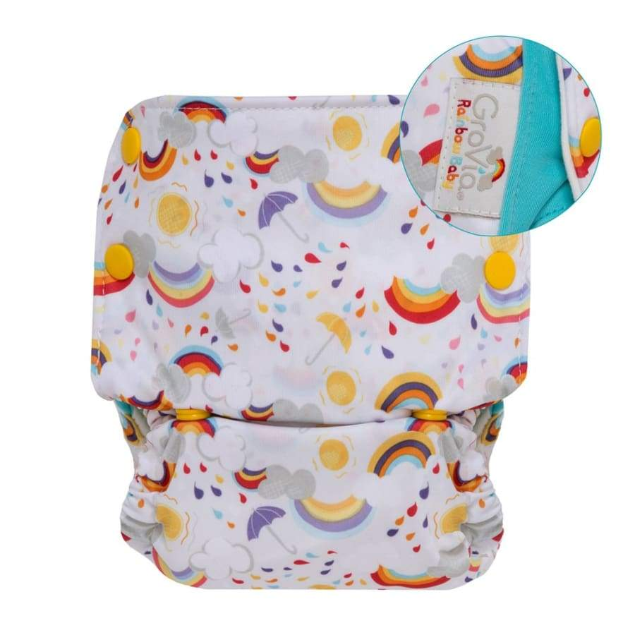 GroVia AIO One Size Rainbow | Grovia | Cloth Diaper