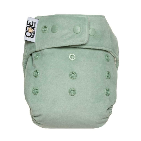 GroVia Buttah O.N.E. Cloth Diaper - Glacier | Grovia | Cloth Diaper