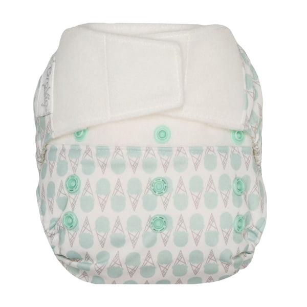 GroVia Hybrid Cloth Diaper H&L Mint Ice Cream | Grovia | Cloth Diaper