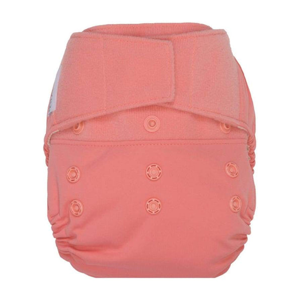 GroVia Hybrid Cloth Diaper H&L Shell Rose | Grovia | Cloth Diaper