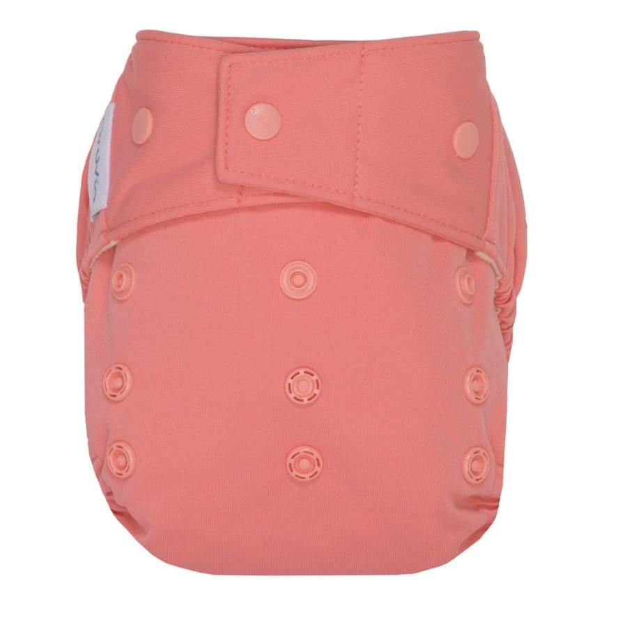 GroVia Hybrid Cloth Diaper Snap Shell Rose | Grovia | Cloth Diaper