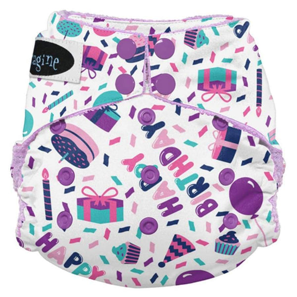 Imagine 2.0 Bamboo All-In-One Snap - Birthday Girl | Imagine | Cloth Diaper