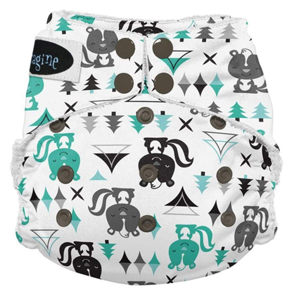 Imagine 2.0 Bamboo All-In-One Snap - Lil Stinker | Imagine | Cloth Diaper