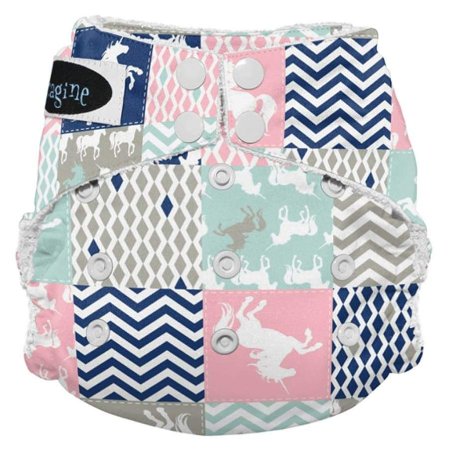 Imagine 2.0 Bamboo All-In-One Snap - Unicorn Dreams | Imagine | Cloth Diaper