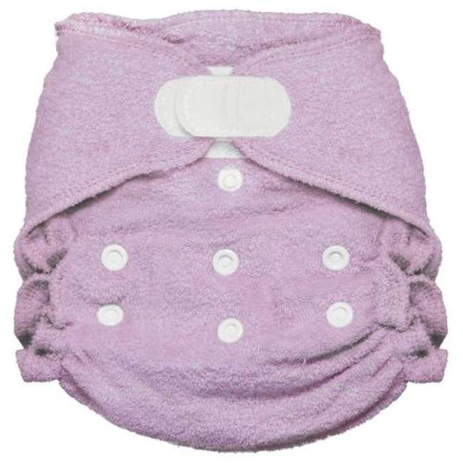 Imagine 2.0 Bamboo Fitted Diaper One-Size H&L - Lilac | Imagine | Cloth Diaper