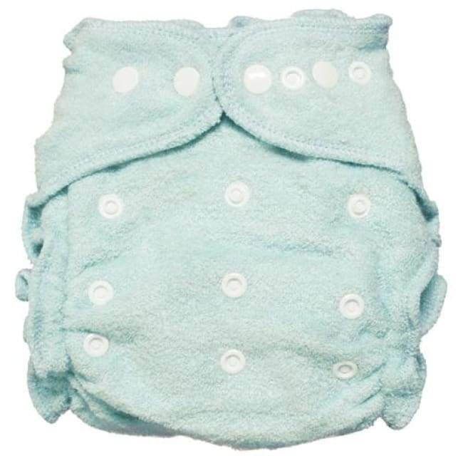 Imagine 2.0 Bamboo Fitted Diaper One-Size Snap - Indigo | Imagine | Cloth Diaper