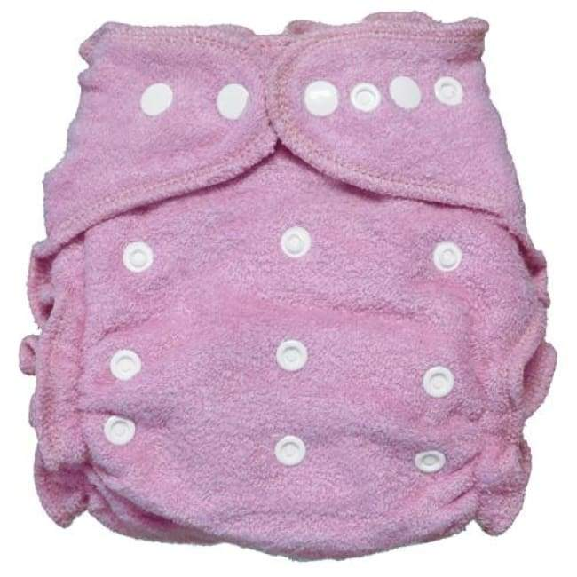 Imagine 2.0 Bamboo Fitted Diaper One-Size Snap - Lilac | Imagine | Cloth Diaper