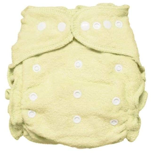 Imagine 2.0 Bamboo Fitted Diaper One-Size Snap - Marigold | Imagine | Cloth Diaper