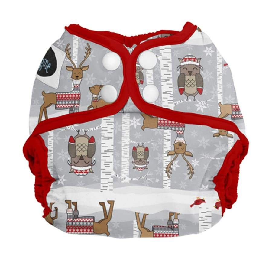 Imagine Newborn Diaper Cover Snap - Cozy Critters | Imagine | Cloth Diaper