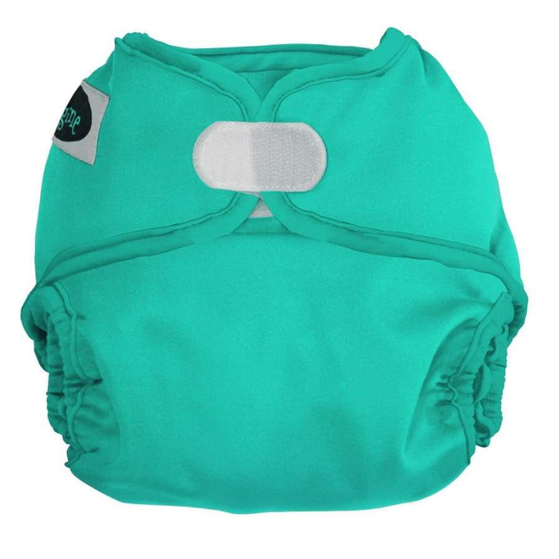 Imagine One Size Diaper Cover H&L - Aquamarine | Imagine | Cloth Diaper