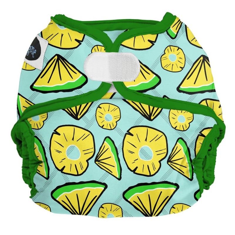 Imagine One Size Diaper Cover H&L - Pineapple Pop | Imagine | Cloth Diaper
