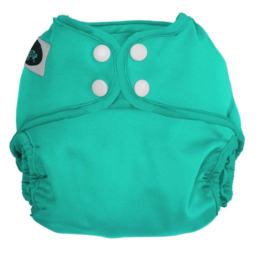 Imagine One Size Diaper Cover Snap - Aquamarine | Imagine | Cloth Diaper