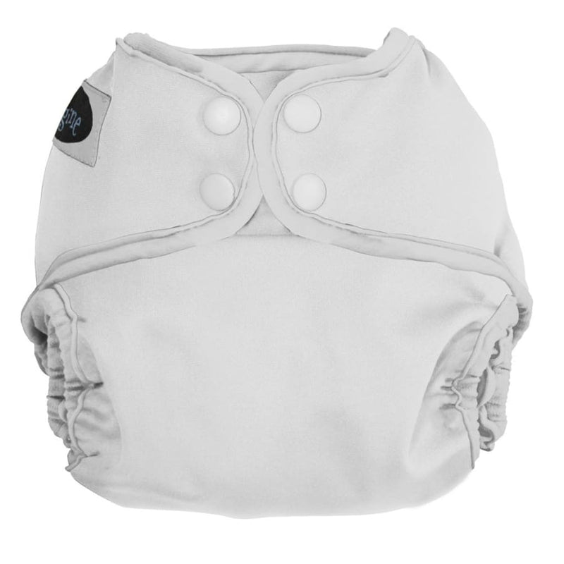 Imagine One Size Diaper Cover Snap - Snow | Imagine | Cloth Diaper