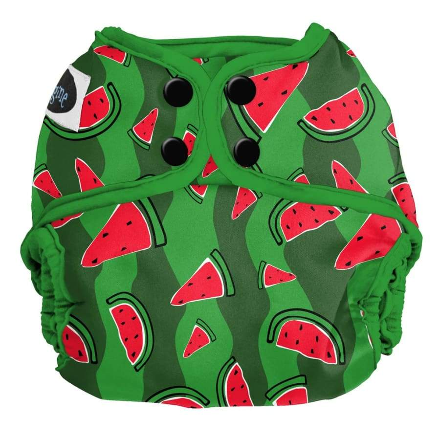 Imagine One Size Diaper Cover Snap - Watermelon Patch | Imagine | Cloth Diaper