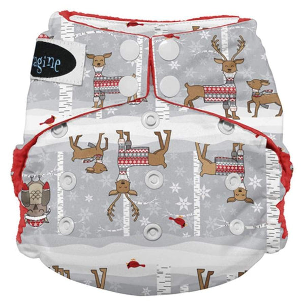Imagine Stay Dry All-In-One Snap - Cozy Critters | Imagine | Cloth Diaper