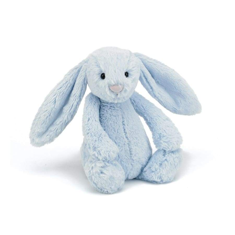 JellyCat Bashful Bunny Blue Medium | JellyCat | Toys