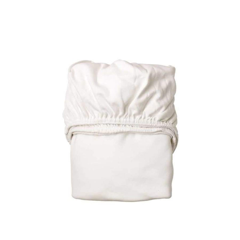 Leander Baby to Junior Bed Baby Cot Fitted sheets - White (2 pieces) | Leander | Nursery