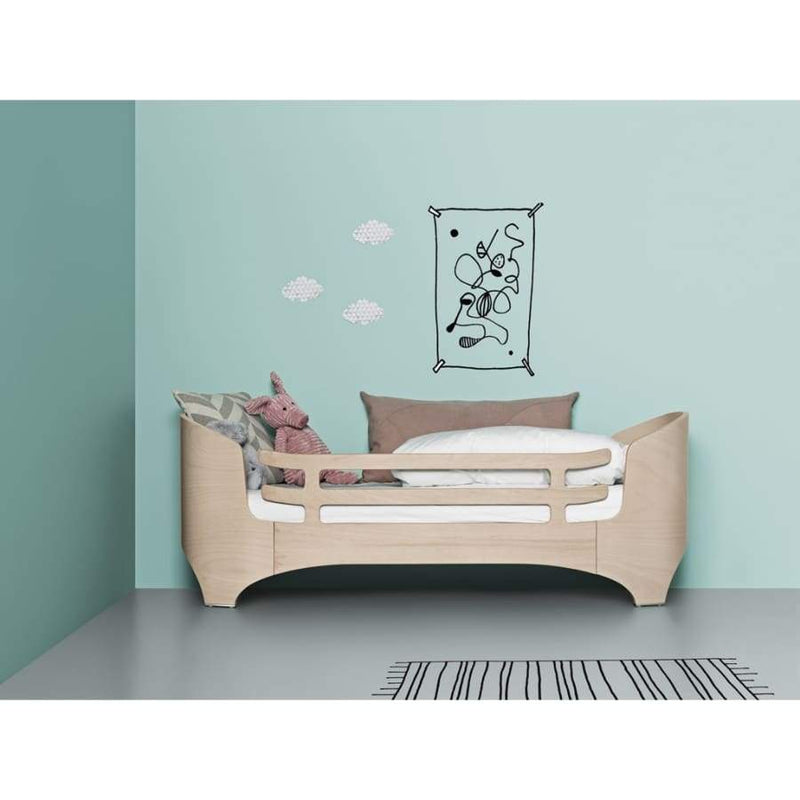Leander Baby to Junior Bed Safety Bar - White | Leander | Nursery