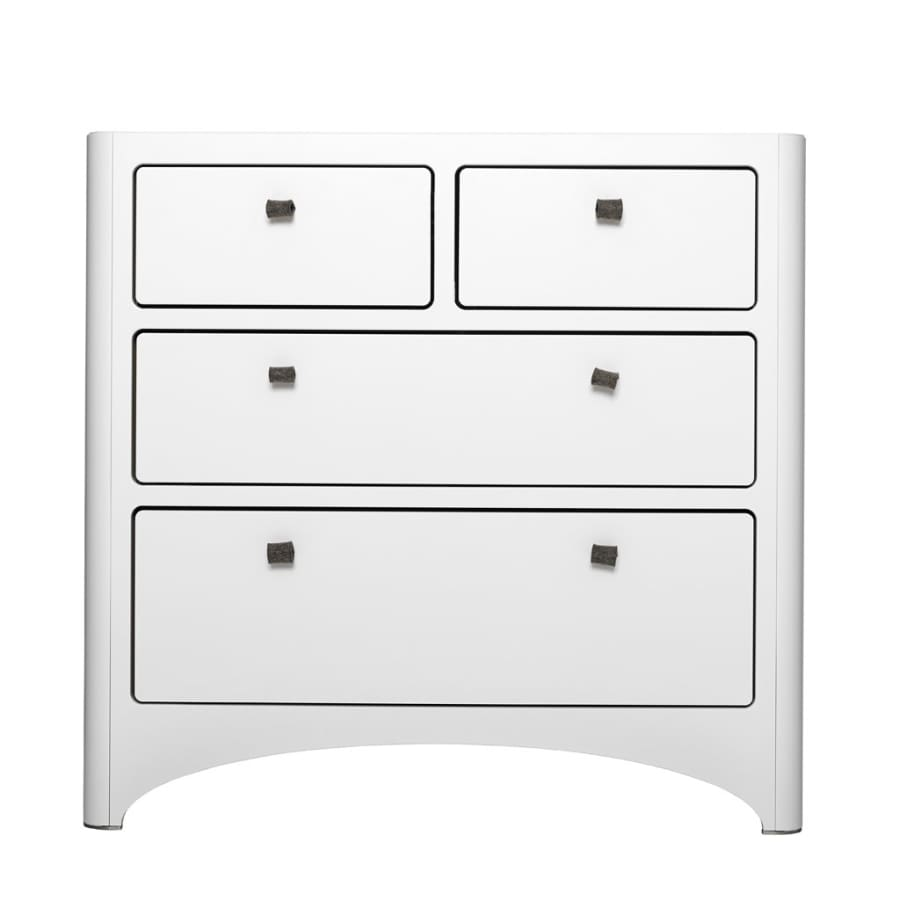 Leander Chest of Drawers - White | Leander | Nursery