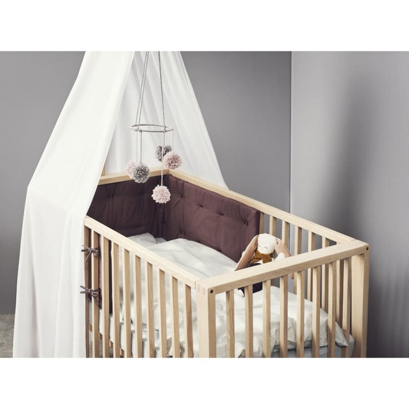 Linea by Leander Cot Canopy - Misty Blue | Linea by Leander | Nursery