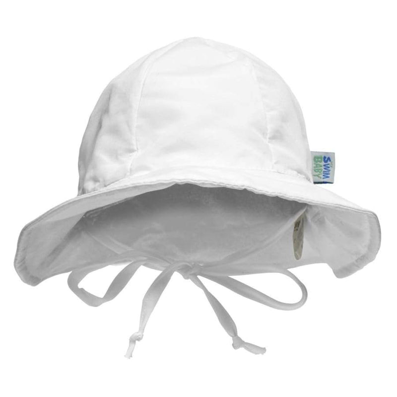 My Swim Baby Sun Hat - White | My Swim Baby | Swim
