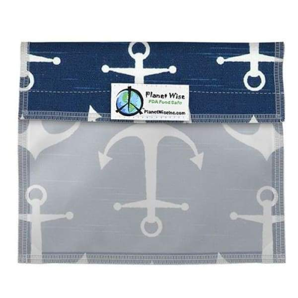 Planet Wise Window Sandwich Bag - Overboard Twill | Planet Wise | Cloth Diaper Accessory