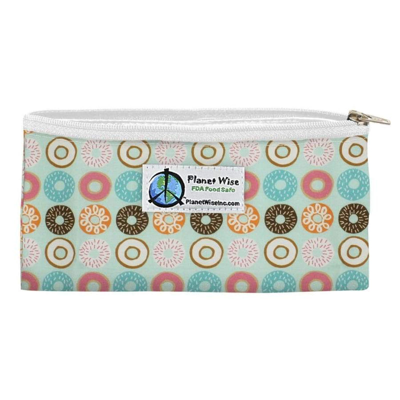 Planet Wise Zippered Snack Bag - Donut Delight | Planet Wise | Cloth Diaper Accessory