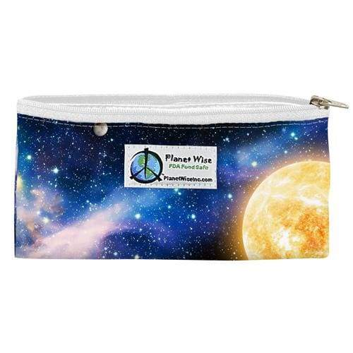 Planet Wise Zippered Snack Bag - Far Far Away | Planet Wise | Cloth Diaper Accessory