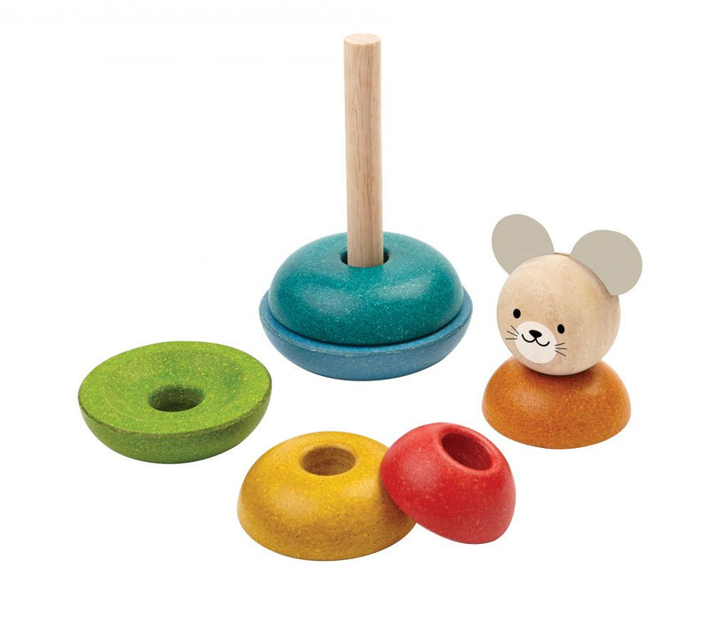 Plan Toys Stacking Ring Mouse
