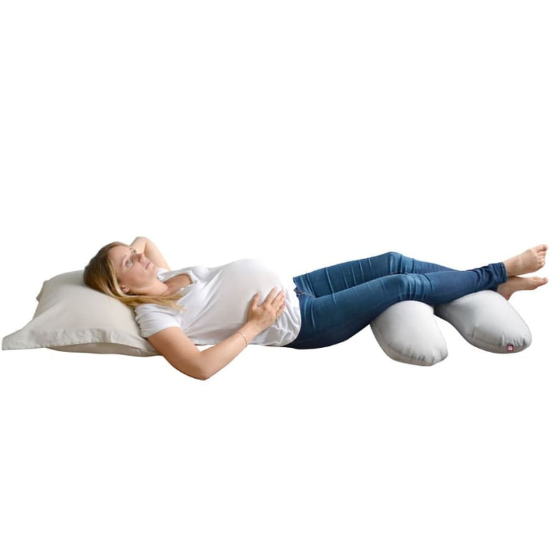 Red Castle Big Flopsy Maternity and Nursing Pillow - Pearl Grey | Red Castle | Nursery
