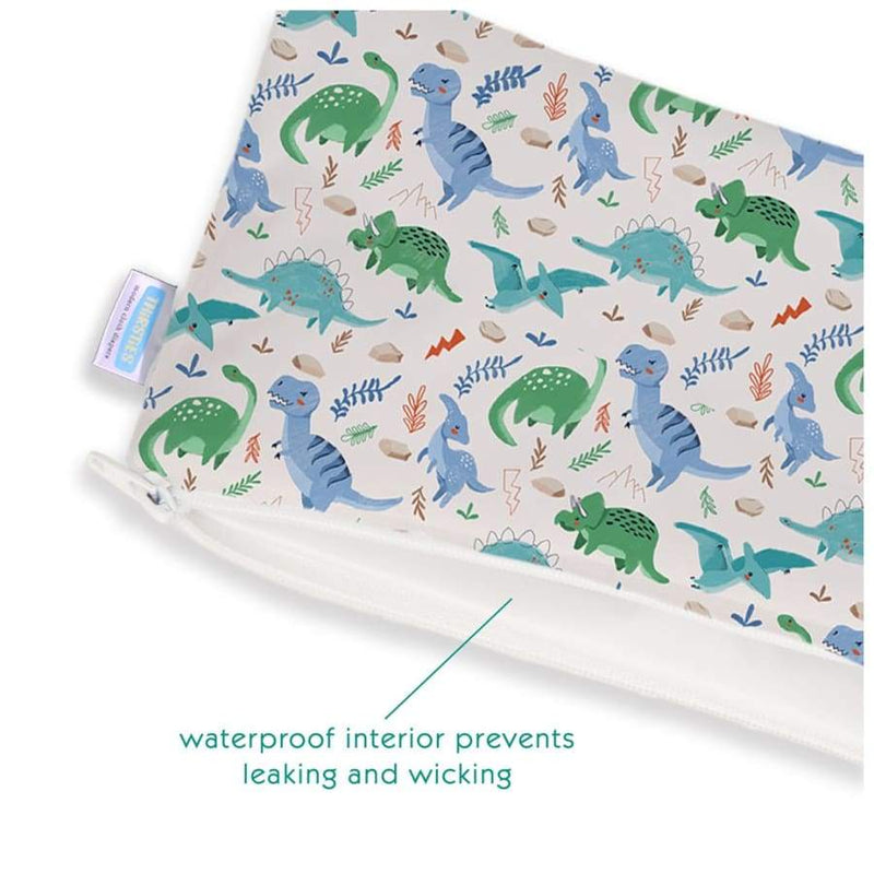Thirsties Clutch Bag - Classic Jurassic | Thirsties | Cloth Diaper Accessory