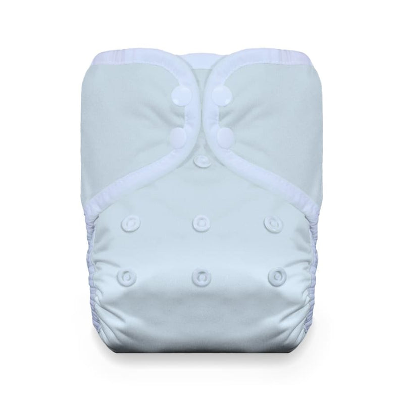 Thirsties One Size Pocket Diaper Snap - Ice Blue | Thirsties | Cloth Diaper
