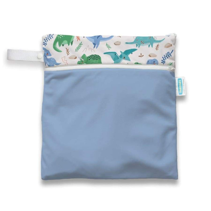 Thirsties Wet Dry Bag - Classic Jurassic | Thirsties | Cloth Diaper Accessory